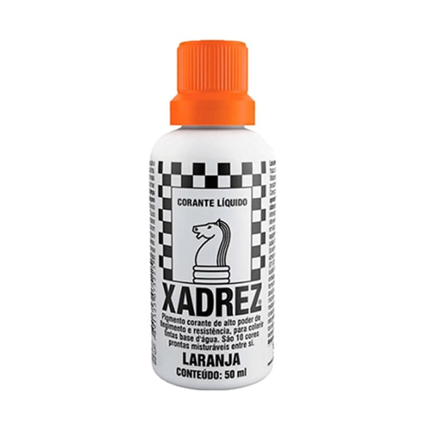 Corante líquido xadrez laranja 50ml Sherwin Williams