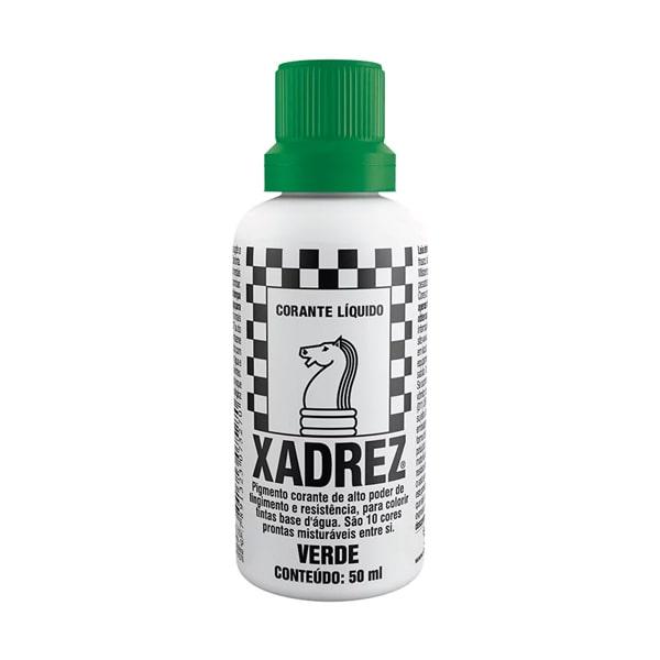 Corante líquido xadrez verde 50ml Sherwin Williams