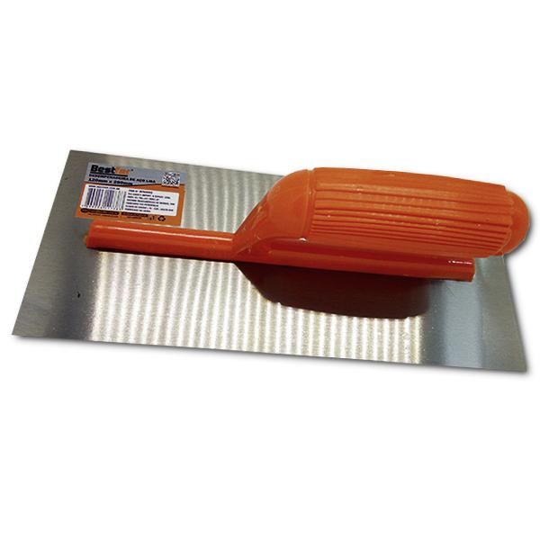 Desempenadeira de aço lisa Bestfer (BFH0092)