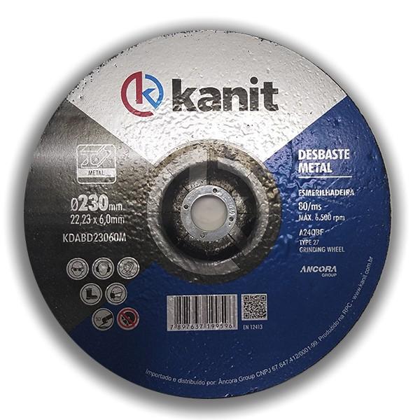 Disco abrasivo de desbaste 230mm Kanit