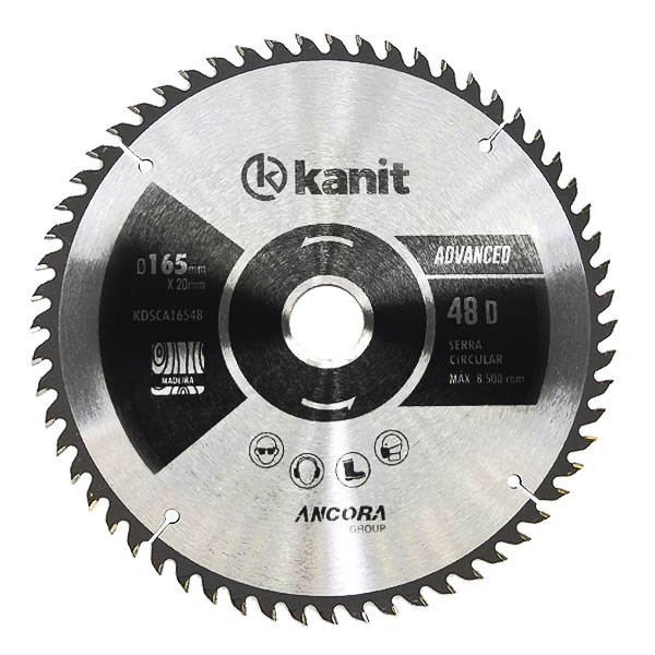 Disco de serra circular 165mm ATB Kanit