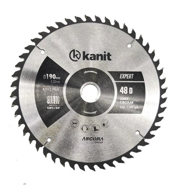 Disco de serra circular TCT expert 190mm Kanit