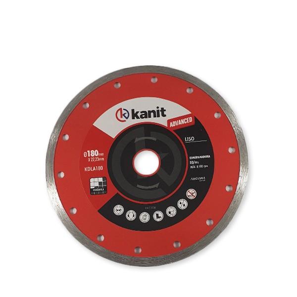 Disco diamantado liso advanced 180mm Kanit