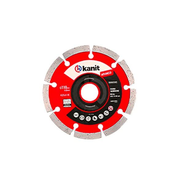Disco diamantado segmentado advanced 110mm Kanit