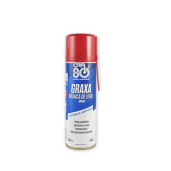 Graxa Branca Spray 300ml Car80