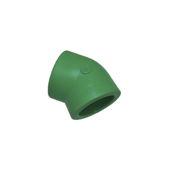 Joelho 45º fêmea/fêmea PPR 40mm - (14638) Amanco