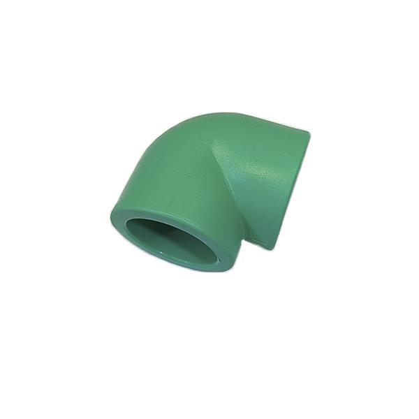 Joelho 90º fêmea/fêmea PPR 63mm - (14535) Amanco