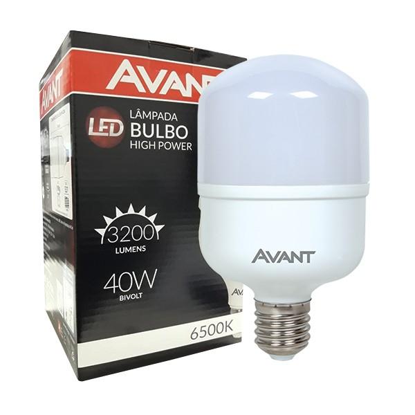 Lâmpada super bulbo led 40W fria 6500K alta potência MK3200C Avant