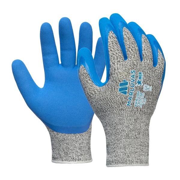 Luva ultra tech cut5 blue (W9610 BR) tam GG Marluvas