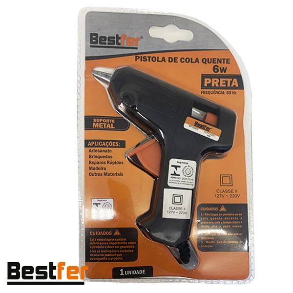 Pistola de cola 6W - 127V 220V Bestfer
