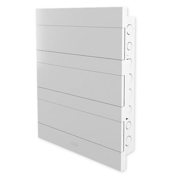 Quadro de distribuição c/ barramento liso 36 disjuntores Amanco