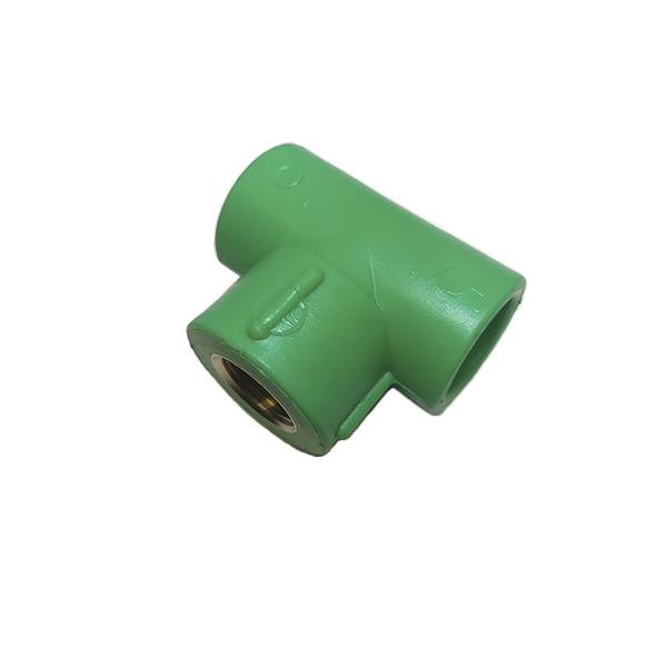 "Tê de transição fêmea PPR 25mm X 3/4"" X 25mm"
