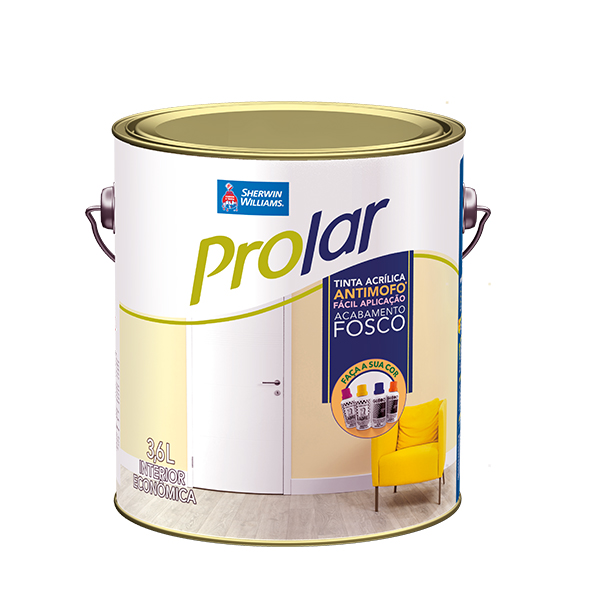 Tinta econômica ProLar pérola 3,6 gl Sherwin Williams