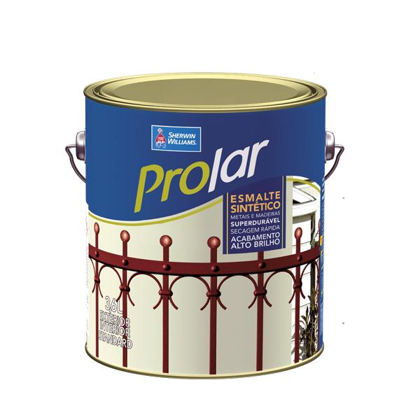 Tinta esmalte AB ProLar platina 3,6 gl Sherwin Williams