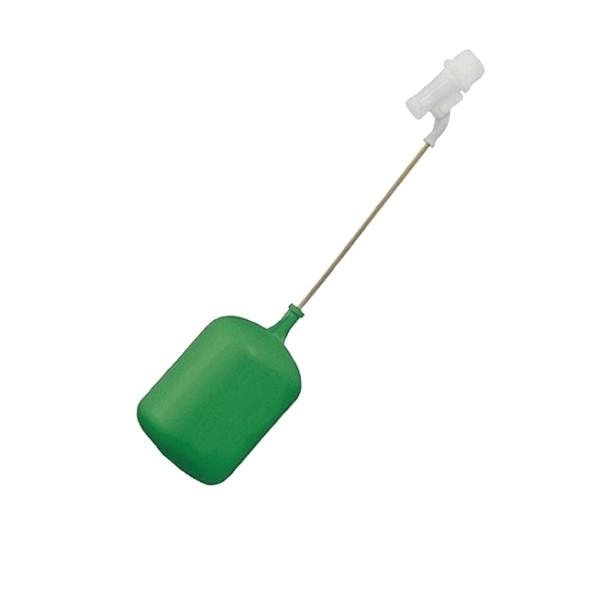 """Torneira boia plástica c/ balão verde 3/4"""" (32mm) Amanco"""