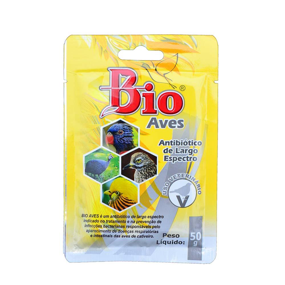 Bio Aves - Antibiótico - 50g