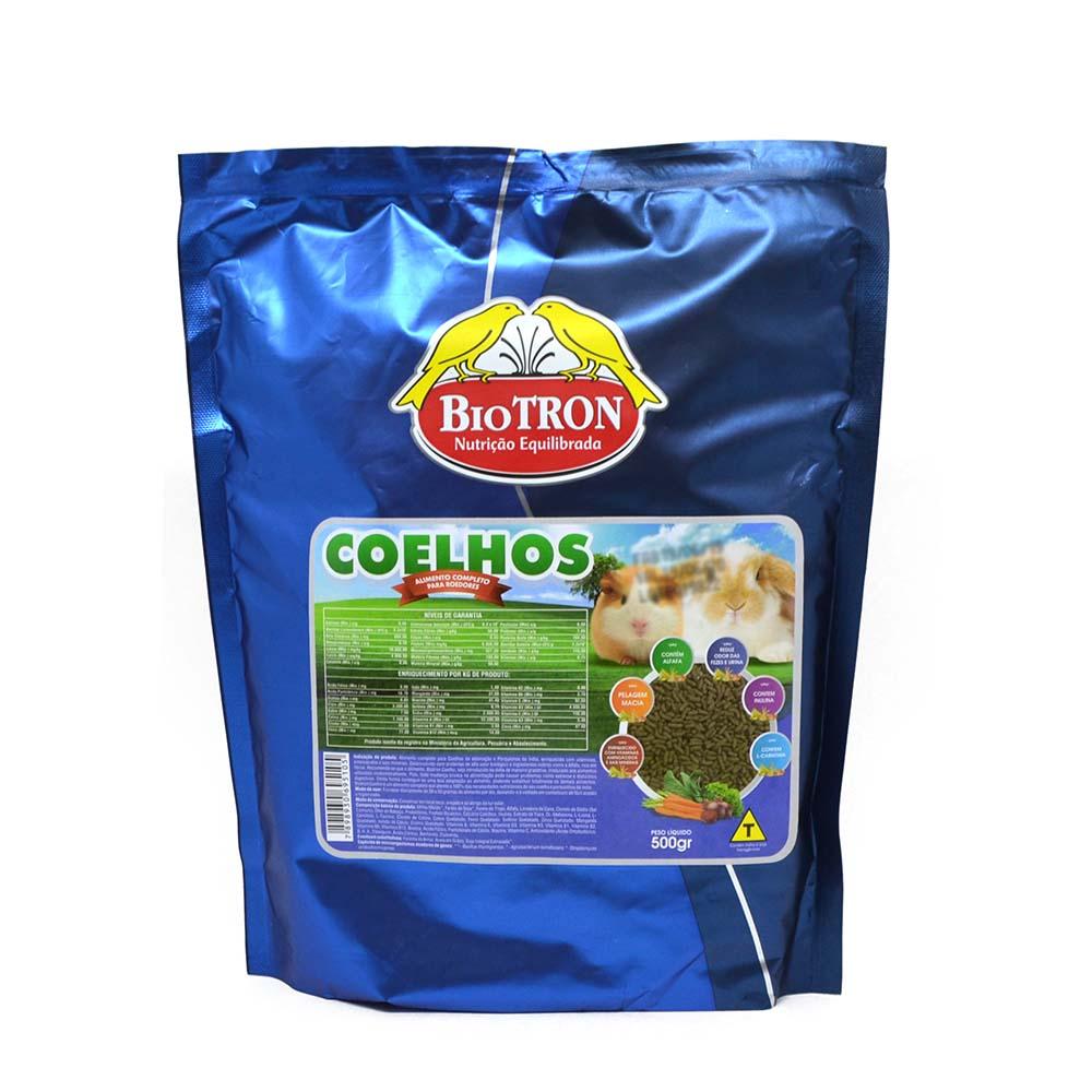 Biotron Coelhos - 500g