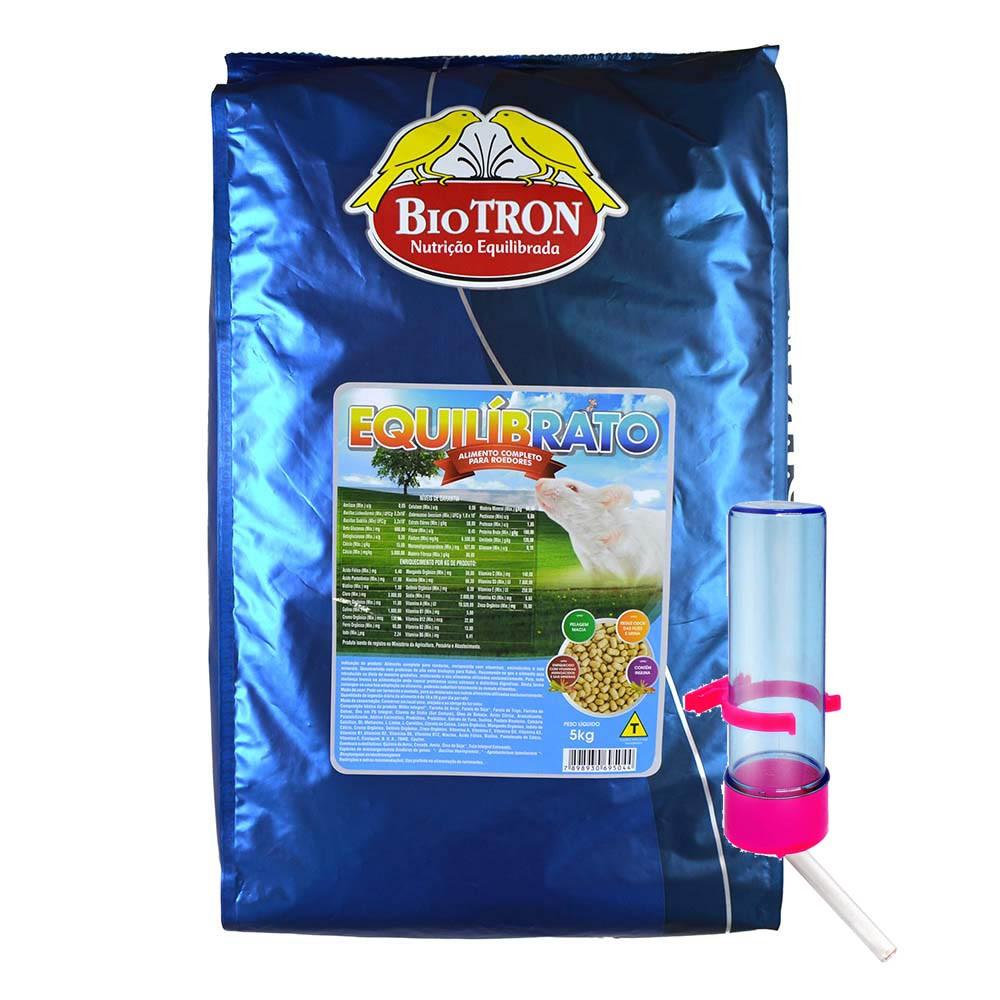 Biotron Equilibrato 5kg + Brinde Bebedouro Roedor Tocotucano