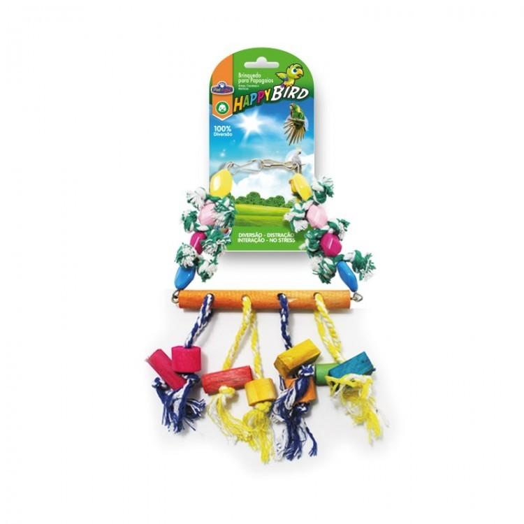 Brinquedo Papagaio Balanço Chocalho
