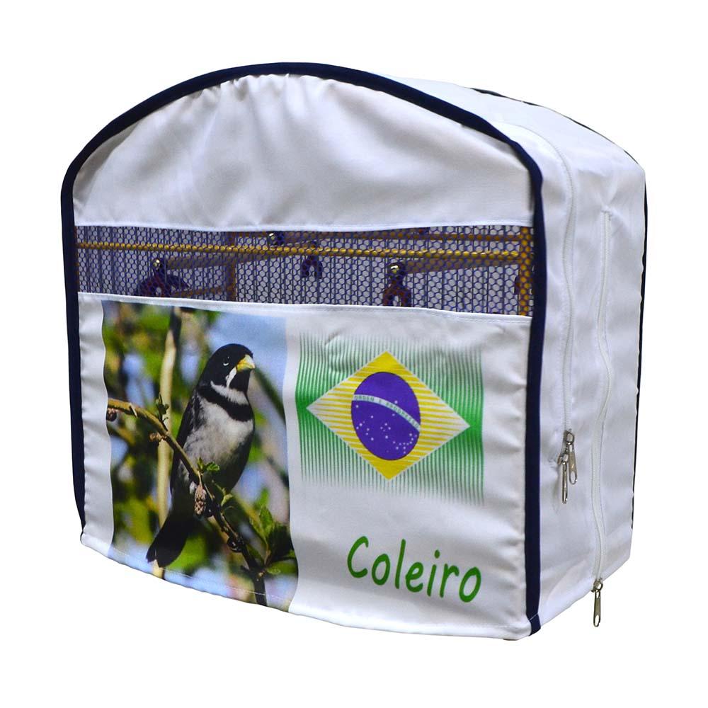 Capa de Tecido para Gaiola de Coleira - Luxo