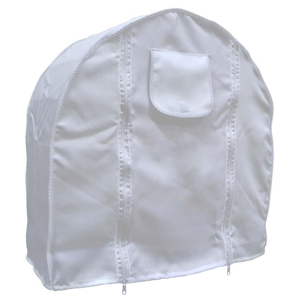 Capa Tecido - Cor  Branca - Gaiola Nº 8