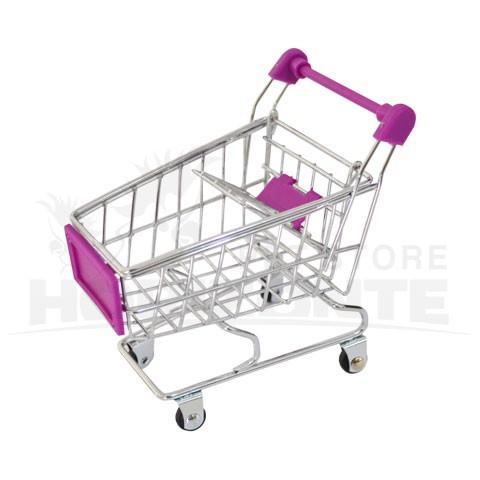 Carrinho de Supermercado para aves - Brinquedo