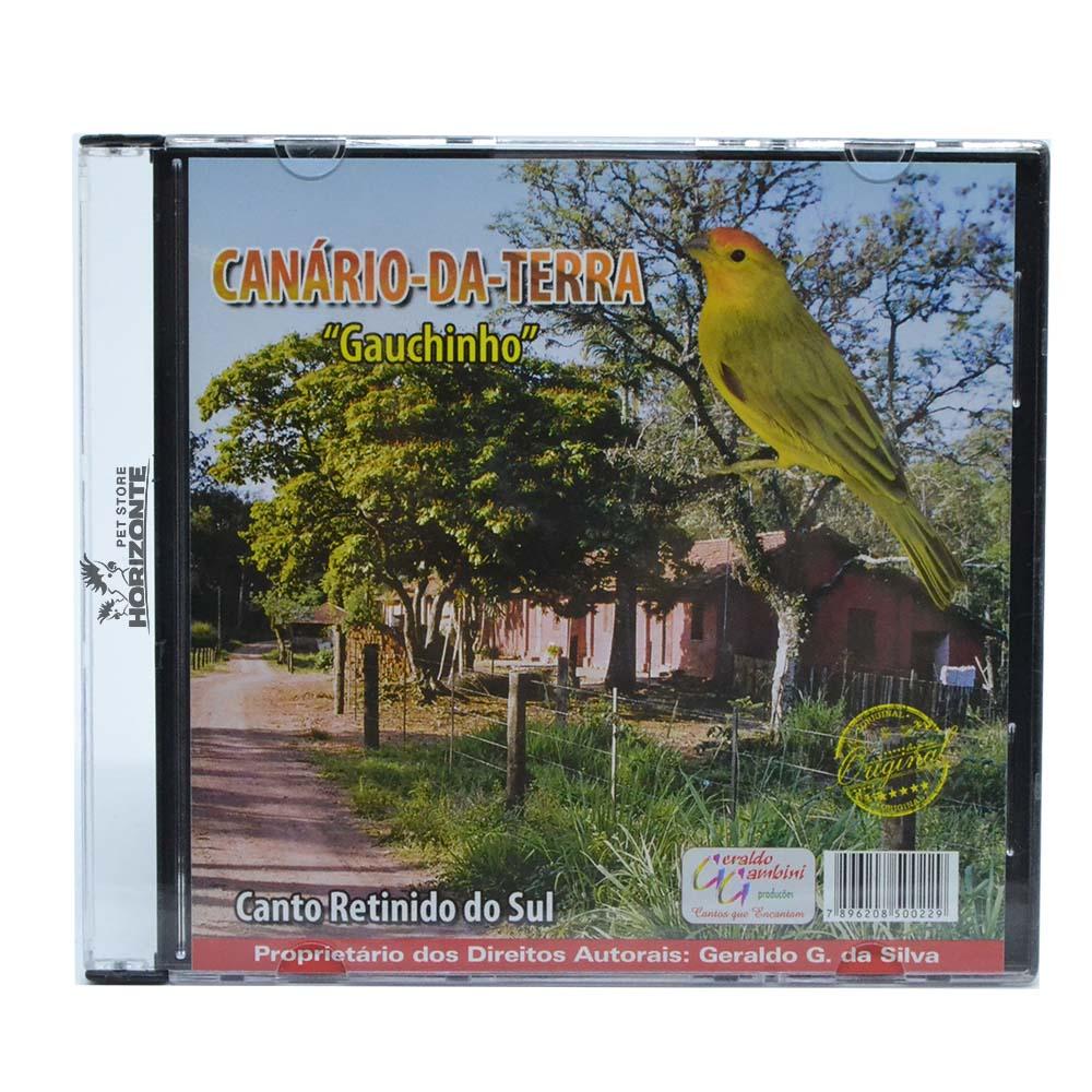 CD - Canário da Terra - Gauchinho