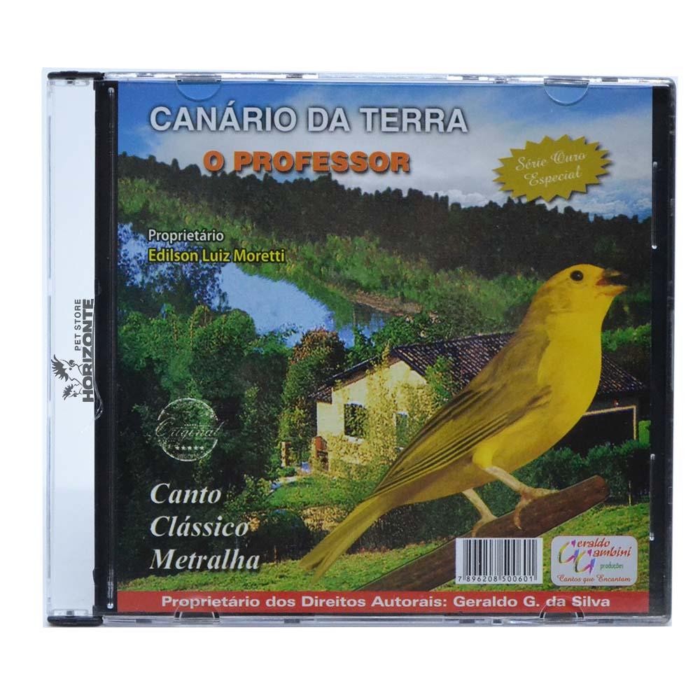 CD - Canário da Terra - O Professor - Série Ouro