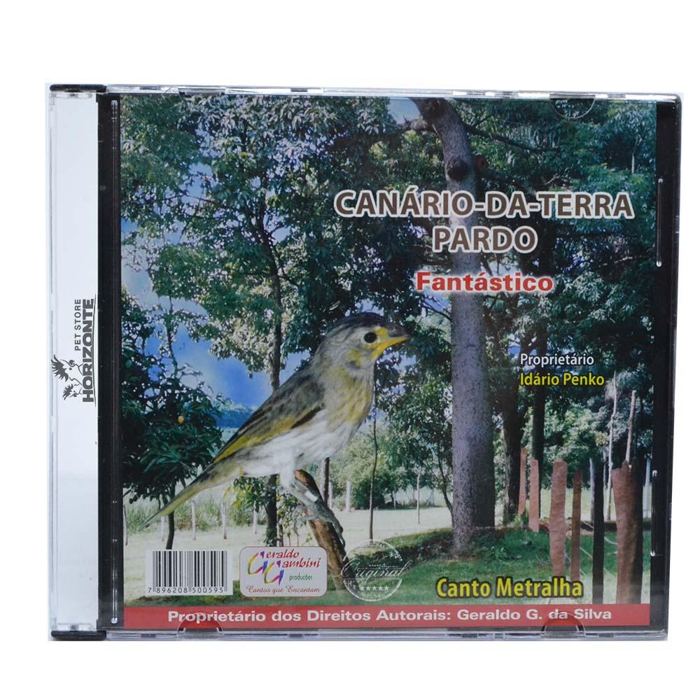 CD - Canário da Terra Pardo - Fantástico