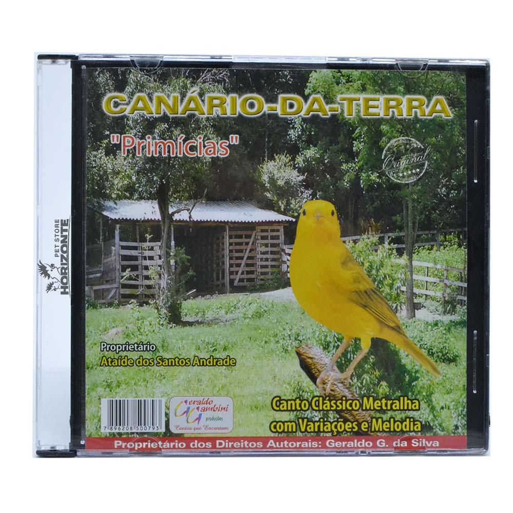 CD - Canário da Terra - Primícias