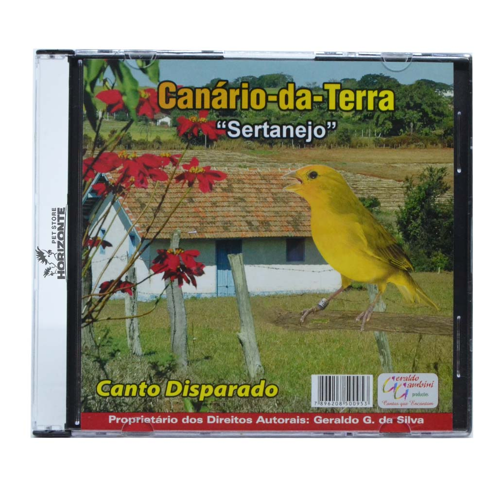 CD - Canário da Terra - Sertanejo