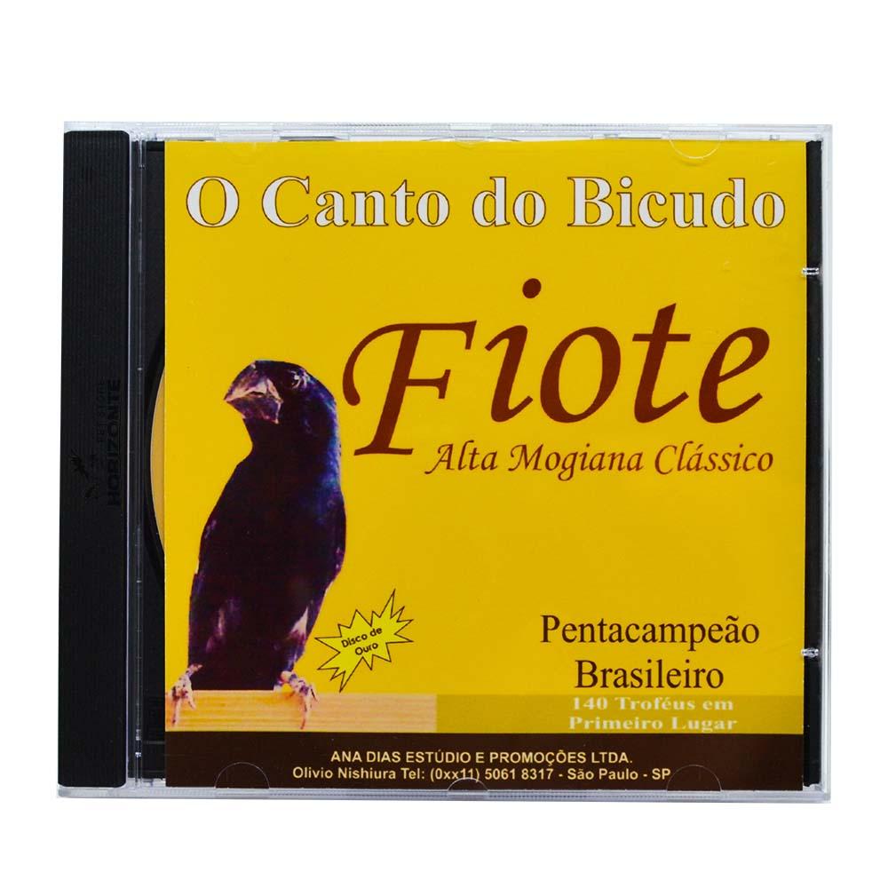 CD - Canto do Bicudo - Fiote - Disco de Ouro