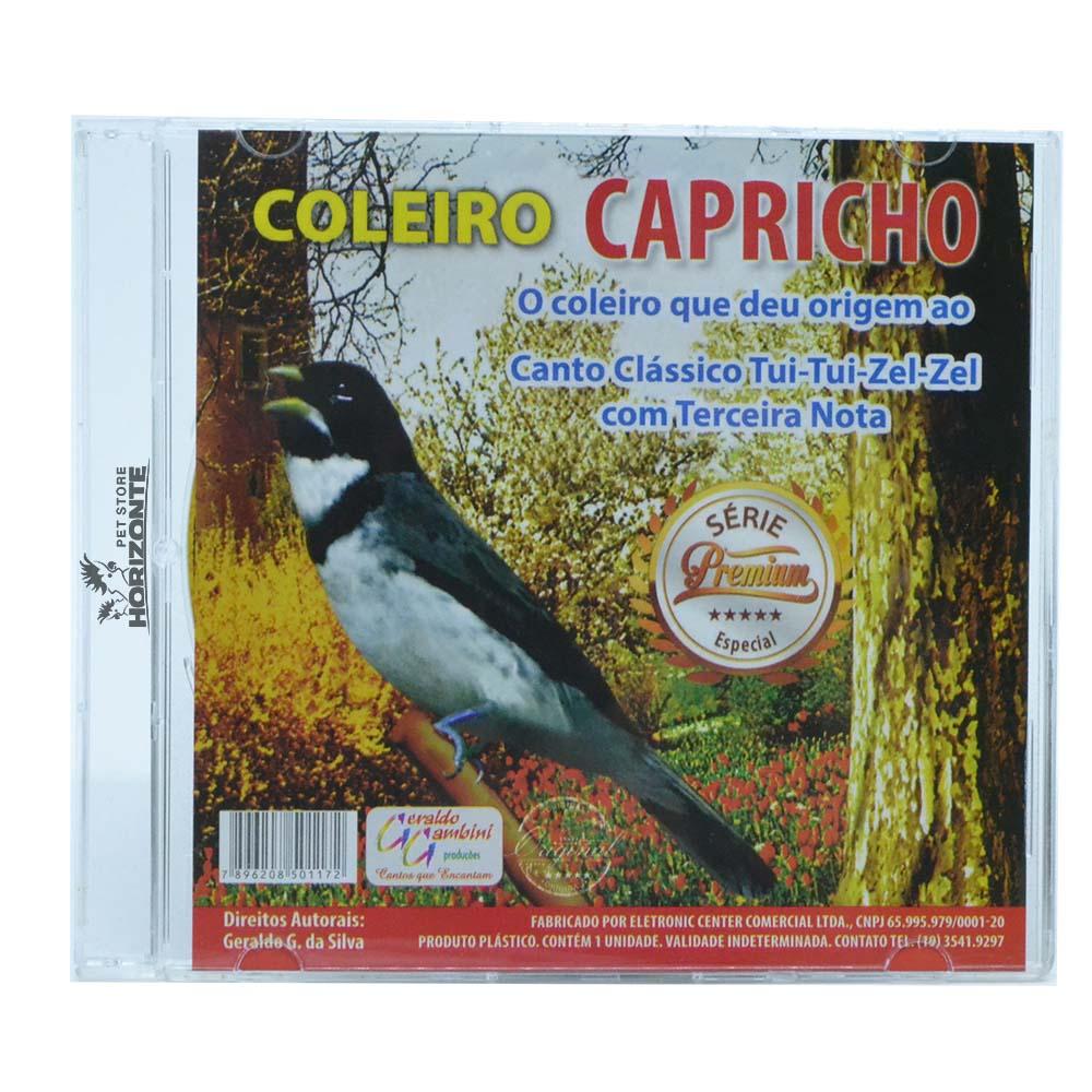CD - Coleiro - Capricho