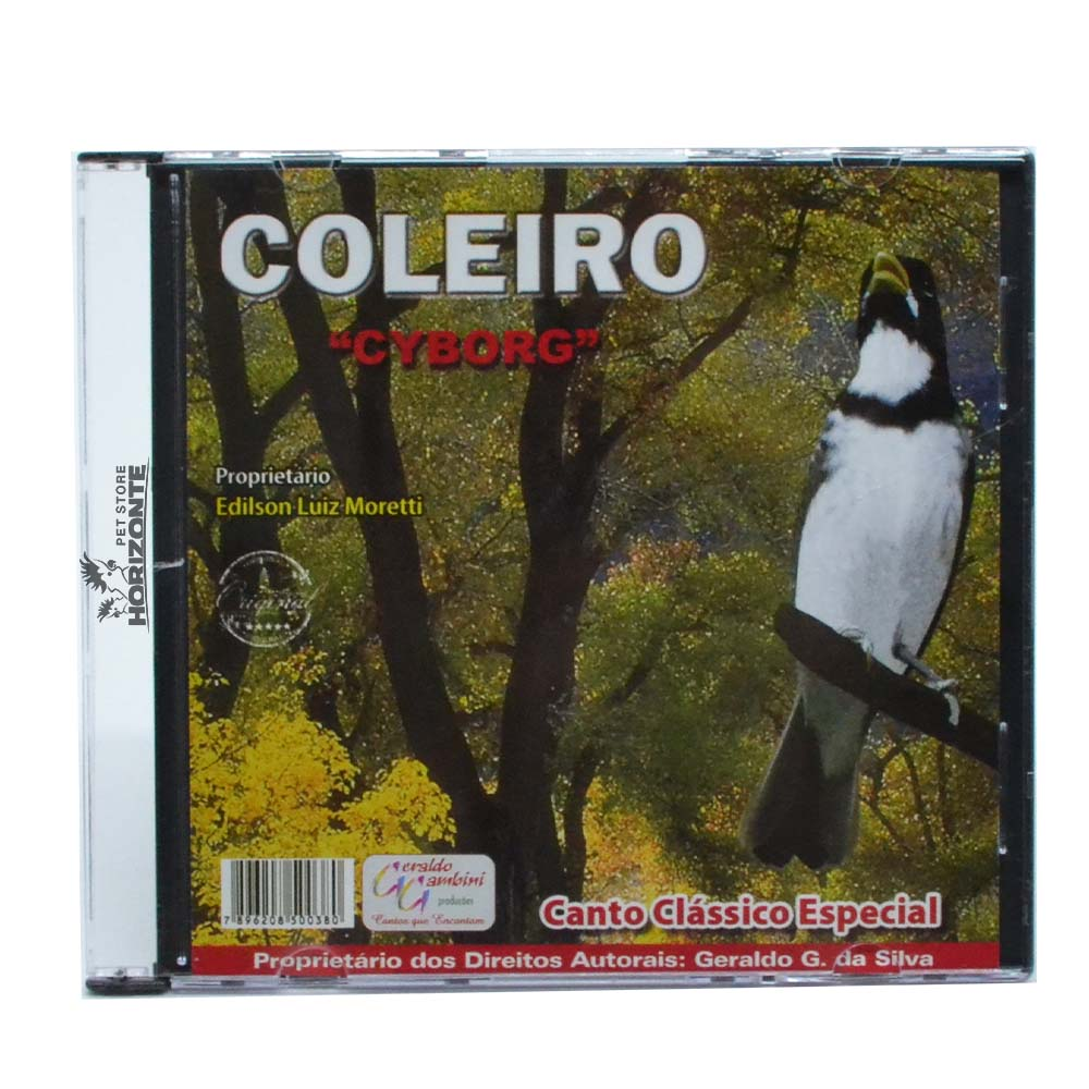 CD - Coleiro - Cyborg