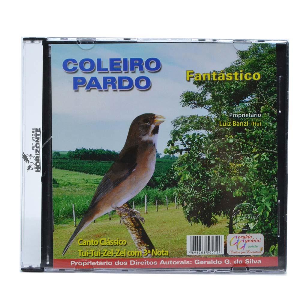 CD - Coleiro Pardo - Fantástico