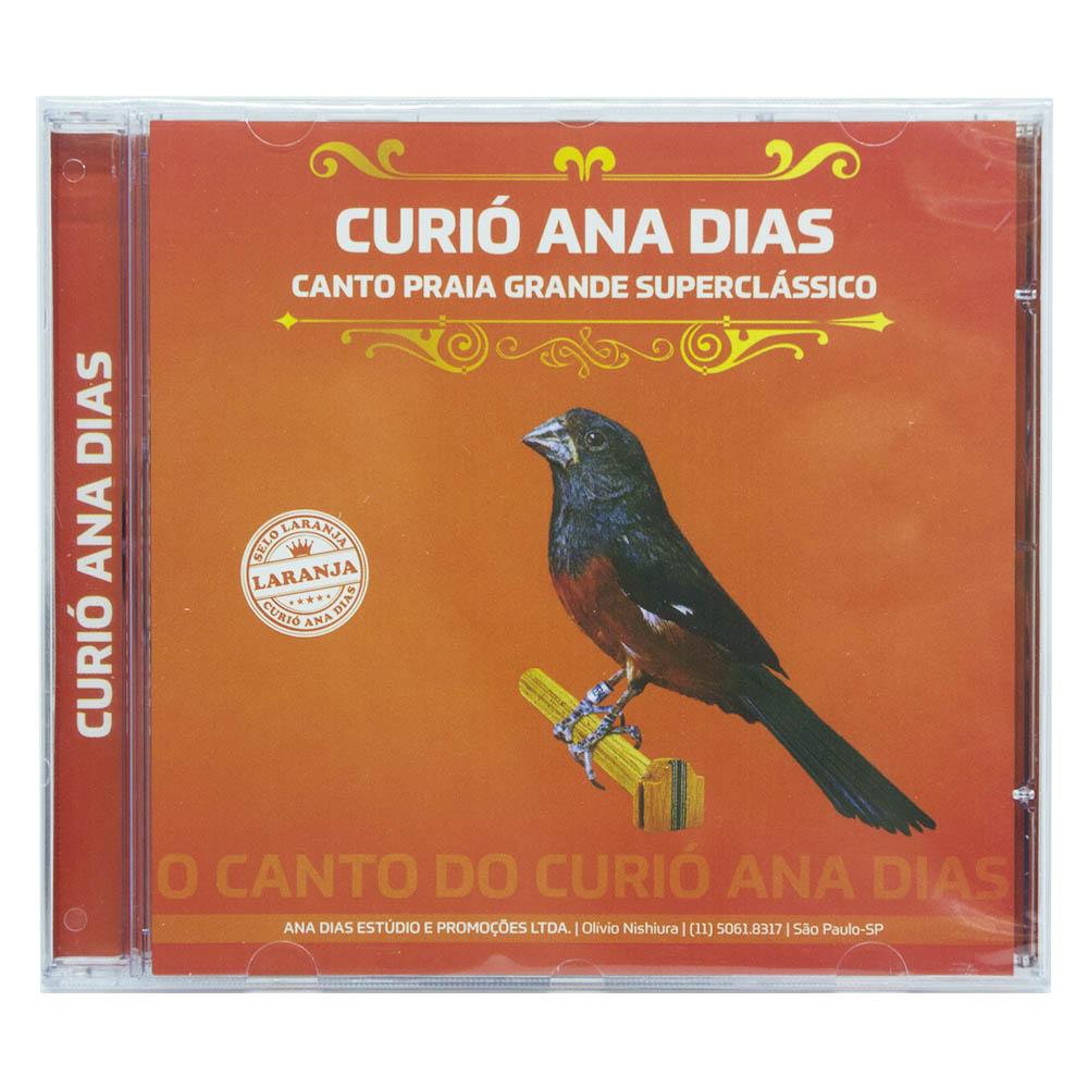 CD - Curió Ana Dias - Selo Laranja