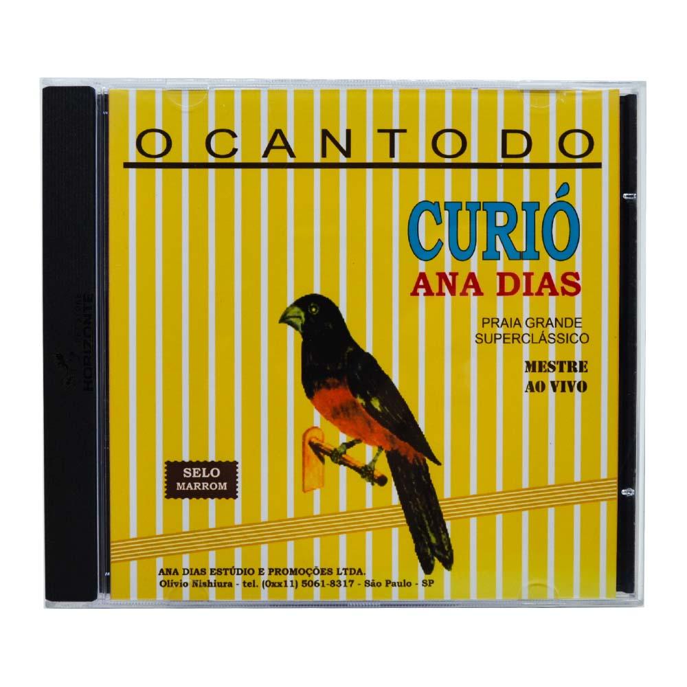 CD - Curió Ana Dias - Selo Marrom