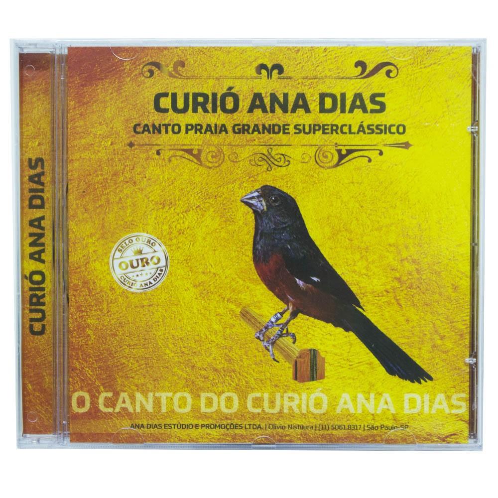 CD - Curió Ana Dias - Selo Ouro