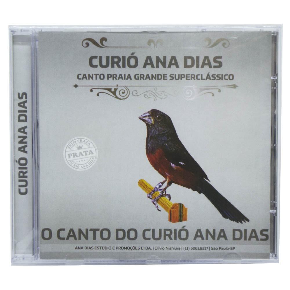 CD - Curió Ana Dias - Selo Prata