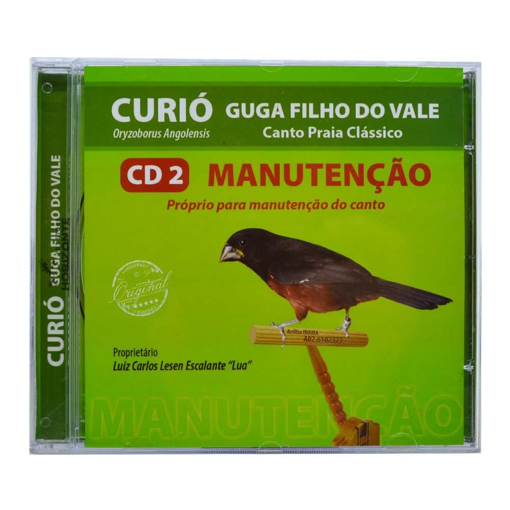 CD - Curió Guga Filho do Vale - CD 2 - Manutenção