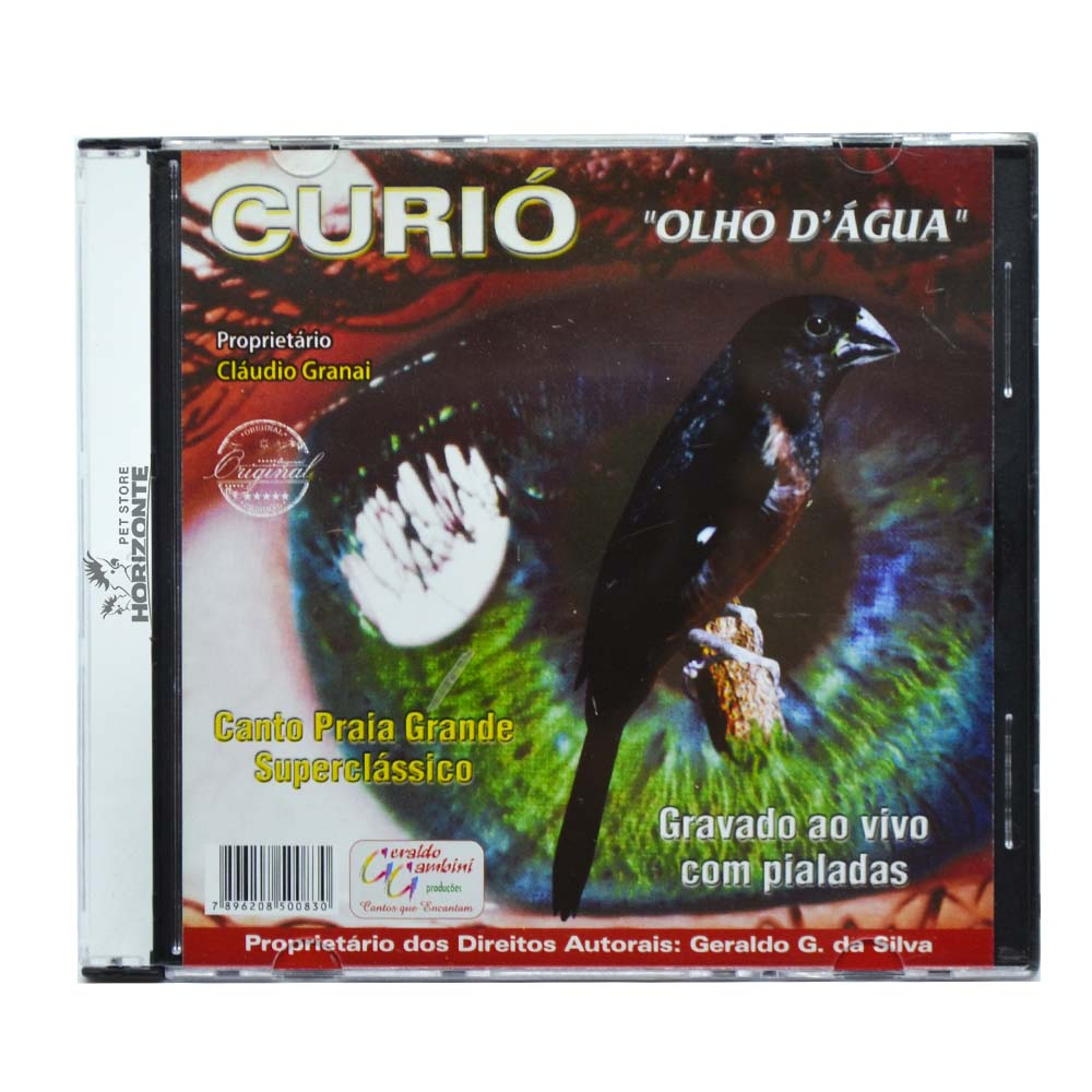 CD - Curió - Olho D'Água