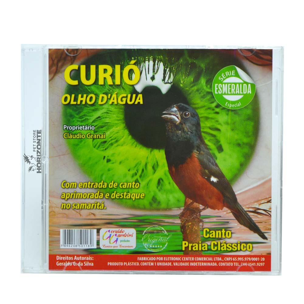 CD - Curió Olho D'Água - Série Esmeralda