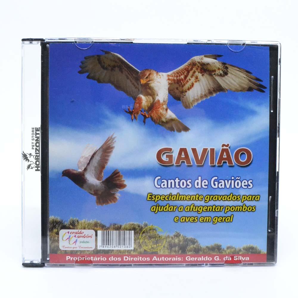 CD - Gavião - Cantos de Gavião