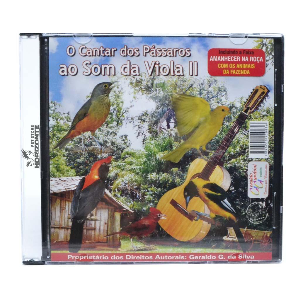 CD - O Cantar dos Pássaros ao Som da Viola - Volume 2