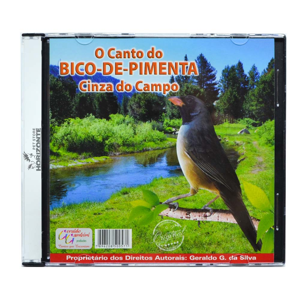 CD - O Canto do Bico de Pimenta