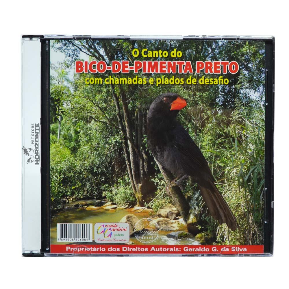 CD - O Canto do Bico de Pimenta Preto