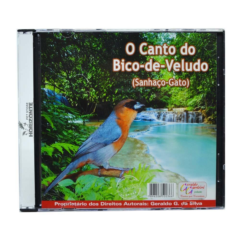 CD - O Canto do Bico de Veludo