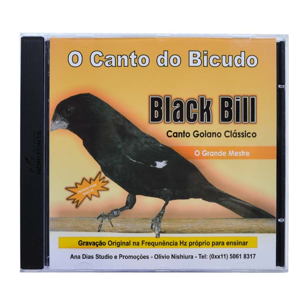 CD - O Canto do Bicudo Black Bill