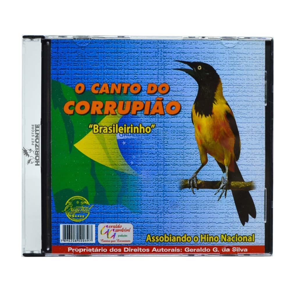 CD - O Canto do Corrupião - Brasileirinho