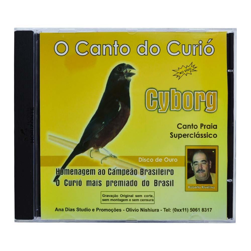 CD - O Canto do Curió Cyborg - Ao vivo